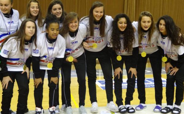 UNSS - Championnat de France Excellence Cadettes Lycées : ST BRIEUC champion aux tirs au but