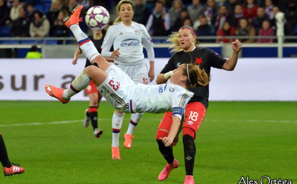 Ligue des Champions (Quart) - Les Lyonnaises ont fait le spectacle