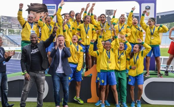 Scolaire - #EuroFootJeunes 2016 : Le BRESIL champion, la FRANCE 5e