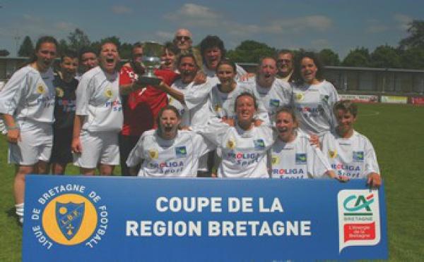 L'US Saint-Malo, victorieux de la Coupe de Bretagne