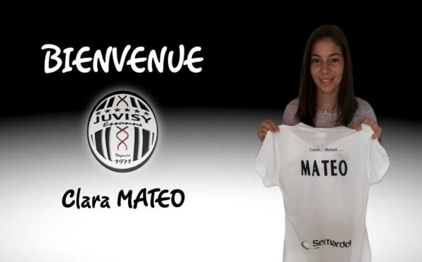 #D1F - L'internationale U19 Clara MATEO signe au FCF JUVISY