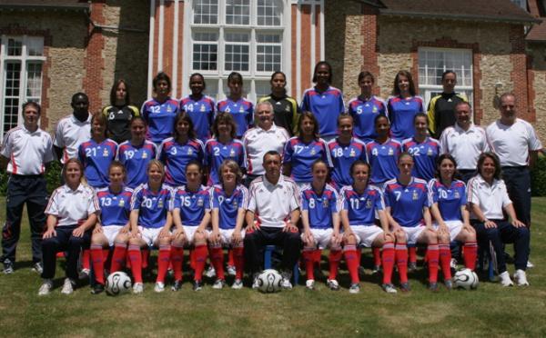Euro 19 ans : les 18 joueuses retenues