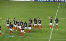Bleues - FRANCE - BRESIL : Henry capitaine et latérale gauche