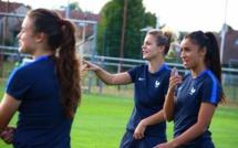 Bleues - Sakina KARCHAOUI est arrivée pour remplacer Wendie RENARD