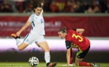 Bleues - Les 23 Anglaises retenues pour la FRANCE et l'ESPAGNE