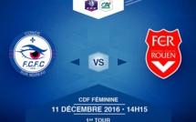 Coupe de France - CONDE - ROUEN (live vidéo dimanche à 14h15)