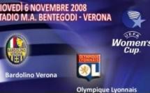 Coupe UEFA : l'OL jouera les 6 et 18 novembre