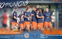 #D1F - J12 (Samedi) : MONTPELLIER - PSG, un choc sous un autre angle, GUINGAMP accueille l'OL et Alex MORGAN