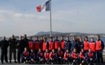 L'équipe de France militaire en stage à Toulon