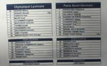 Coupe de France (Finale) - La feuille de match