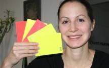 Arbitrage - Florence GUILLEMIN, major des Fédérales Féminines, Stéphanie FRAPPART reste en Ligue 2