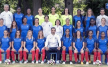 Bleues - La photo officielle pour l'EURO