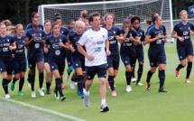 FFF TV - Premier entraînement à Montpellier pour les Bleues