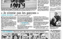 """Une pleine page dans """"Le Parisien"""" édition nationale !"""