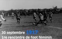 Histoire - Centenaire du 1er match de football féminin en France