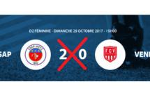 #D2F - Groupe B : L'ESAP METZ perdant par pénalité face à VENDENHEIM