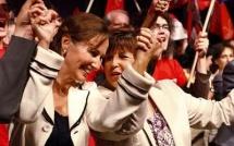 Martine Aubry et Ségolène Royal s'engagent pour le foot féminin...