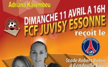 D1 : Juvisy - PSG à l'affiche, dimanche (16 h)