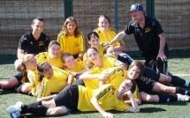 L'Université Toulouse Mirail et STAPS Liévin championnes universitaires de foot à 8