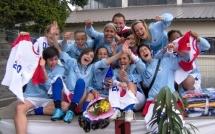Finale nationale UNSS cadettes foot à 7 : Carpentras champion