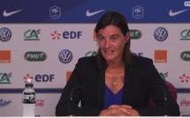 Bleues - La conférence de presse de Corinne DIACRE (vidéo)