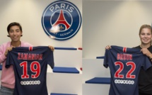 #D1F - Annahita ZAMANIAN et Signe BRUUN signent au PSG