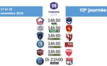 #D1F - J10 : un choc PSG - OL en guise de conclusion