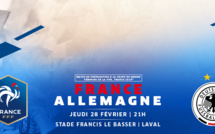 Bleues - Billetterie : FRANCE - ALLEMAGNE ouverte !