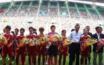 17 812 spectateurs pour un match de championnat japonais