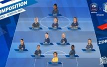 Coupe de Monde - FRANCE - COREE : les compositions avec DIANI titulaire en pointe