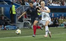 Bleues - Première victoire en compétition face à la NORVEGE