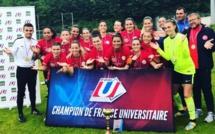 Championnat Universitaire - L'Université MONTPELLIER conserve son titre national