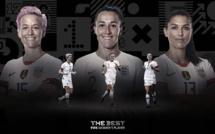 FIFA - Les trois finalistes pour le titre de joueuse FIFA