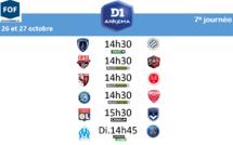 #D1Arkema - Le programme de la 7e journée : OL - Bordeaux, OM - PSG, Paris FC - Montpellier au programme