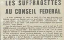 Histoire - épisode 2 - ll y a 50 ans, la reconnaissance fédérale