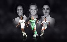 UEFA - Joueuse de l'année - Les trois nommées sont RENARD, BRONZE et HARDER