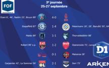 #D1Arkema - J3 : Trois succès à l'extérieur, LE HAVRE prend un point au PFC
