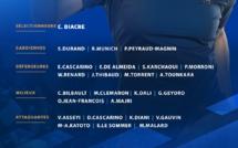 Bleues - Une liste sans Amandine HENRY, première pour Oriane JEAN-FRANCOIS