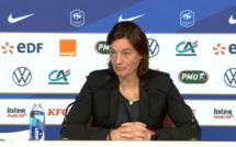 """Bleues - Corinne DIACRE : """"Je me base sur les résultats"""""""