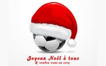 Joyeux Noël... Et rendez-vous en 2013 !