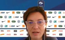 """Bleues - Corinne DIACRE : """"Je n'utiliserai pas les médias comme intermédiaire"""""""