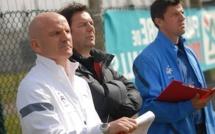 L'Equipe Crédit Agricole - Sous les yeux de Guy STEPHAN et de Grégory COUPET à Lyon...