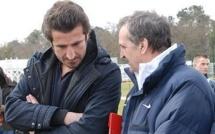 Equipe Crédit Agricole - Avec Bruno BINI et Johan MICOUD sous le soleil Bordelais...