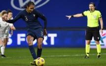 Bleues - Wendie RENARD s'offre un doublé face à la SUISSE