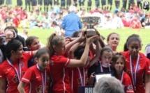 Challenge U13F - l'OLYMPIQUE LYONNAIS remporte le titre