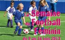 "La ""Semaine du football féminin"" bat son plein"
