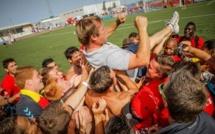 """Championnat d'Europe Universitaire - Frédéric DUMAZERT (Montpellier) : """"C'est génial"""""""