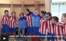"UNSS - Les ""princesses"" de BILLY-MONTIGNY (Pas-de-Calais)"