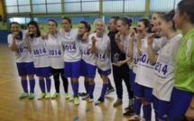 UNSS futsal - Le Lycée La Colinière de NANTES champion de France