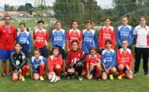 Challenge U13F - L'ESOF LA ROCHE remporte le titre national